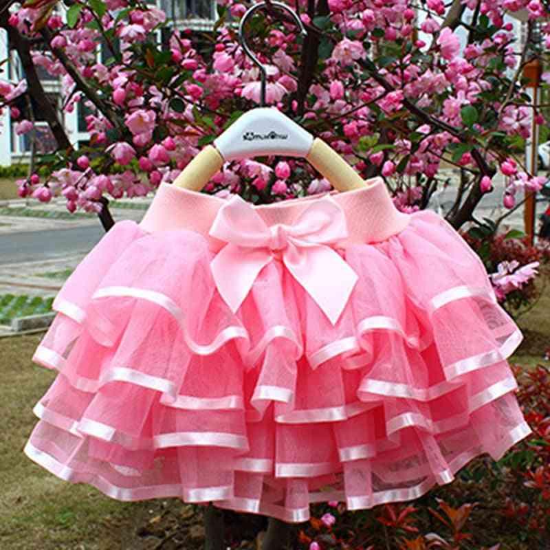Girls Skirt, Cake Pettiskirt Dance Mini Ball Gown