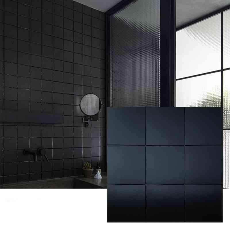 3d Metal Mosaic Wall Panel Self-adhesive Wall Tiling Wallpaper, And Waterproof
