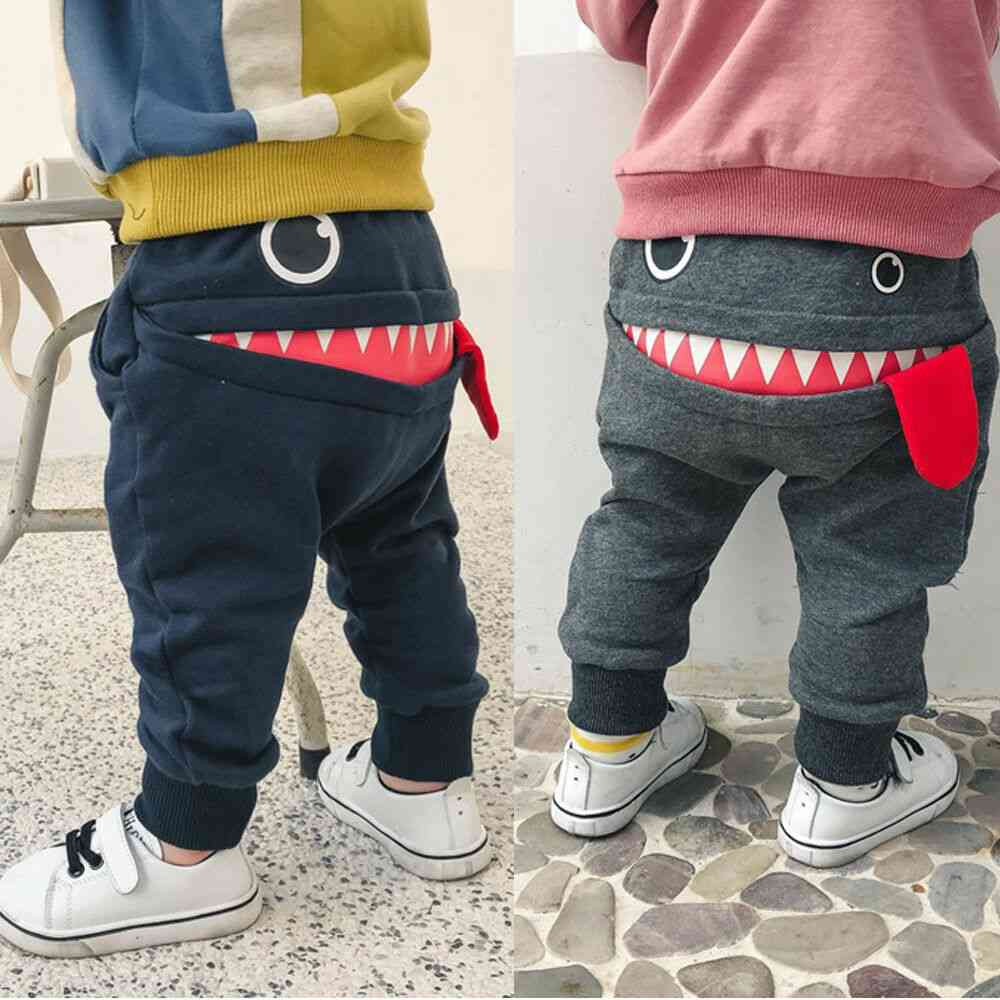 Baby Pants, / Cute Big Mouth Monster Trousers