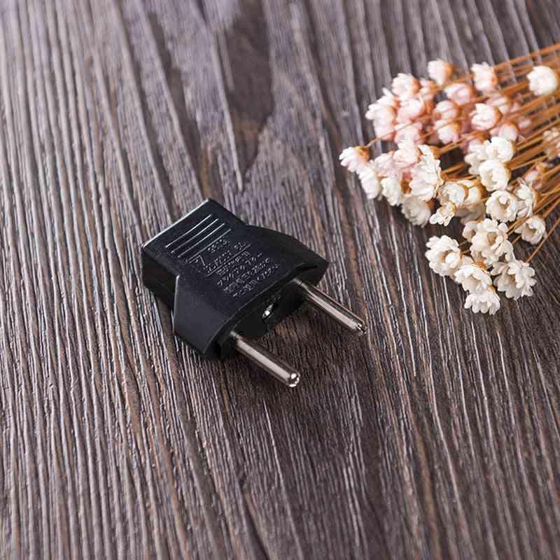 Us To Eu  Power Plug Adapter, 110-250v