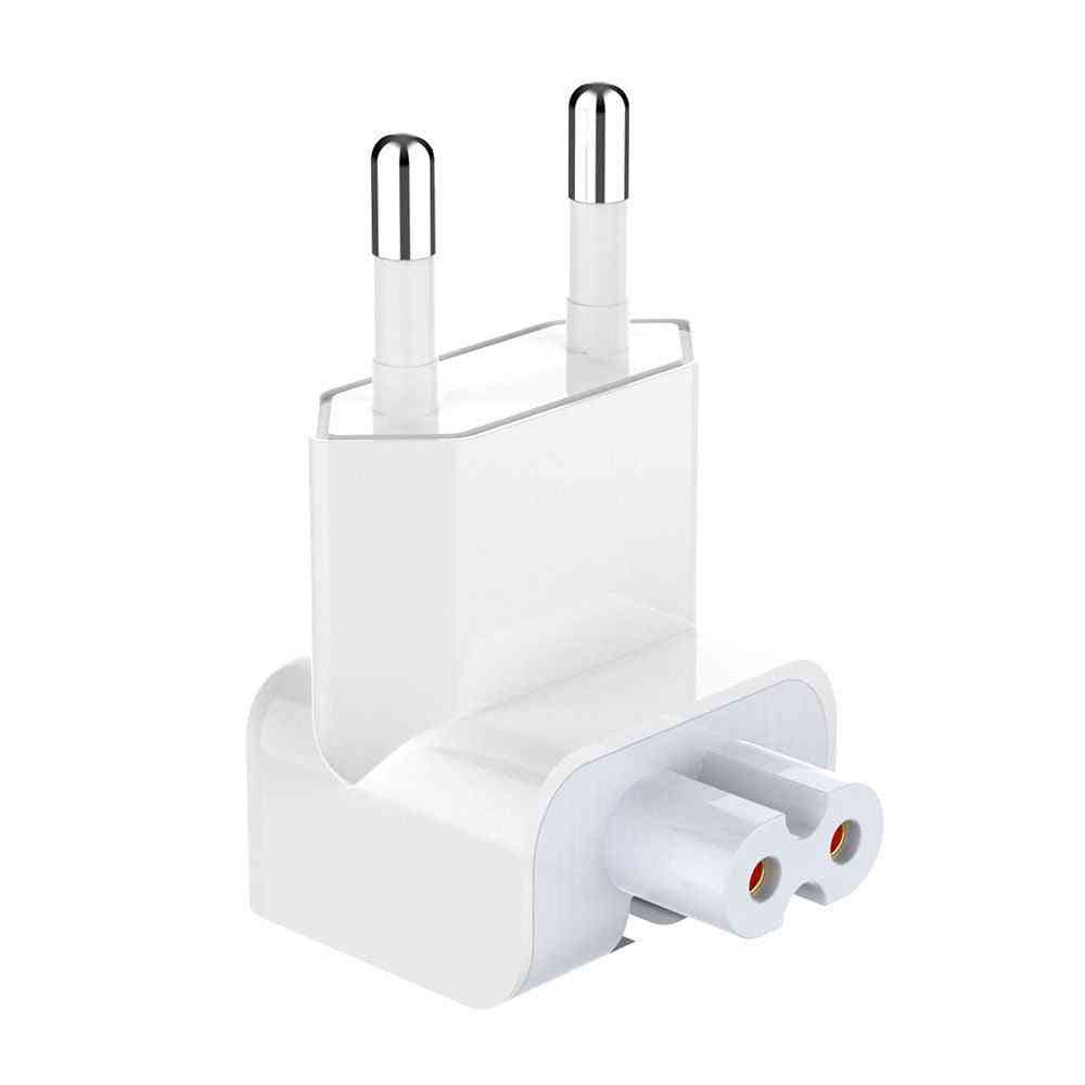 Duck Head Eu/us 2 Pin Power Plug For Replacement