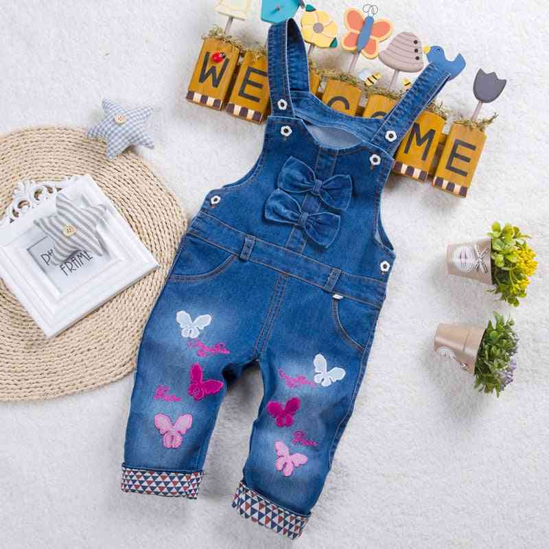 Baby Clothes Trousers, Jumpsuit, Long Pants Denim Jeans -overalls Dungarees