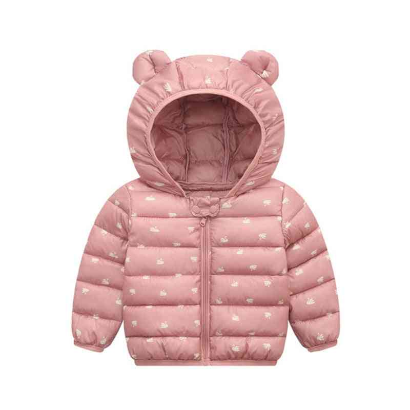 Baby Hooded, Down Jackets, Coats - Outwear Clothes