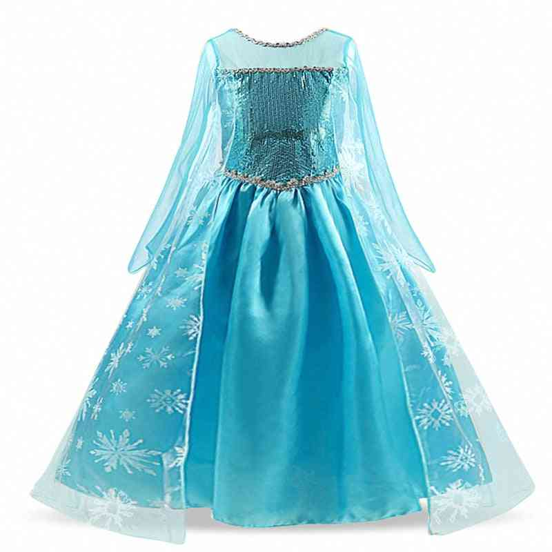 Baby Princess Dress For, Wear Cosplay Halloween Christmas With Crown