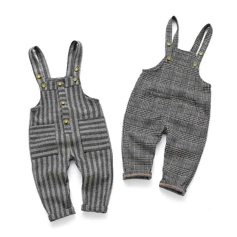 Childrens Plaid Overalls Pants & Jumpsuit For /