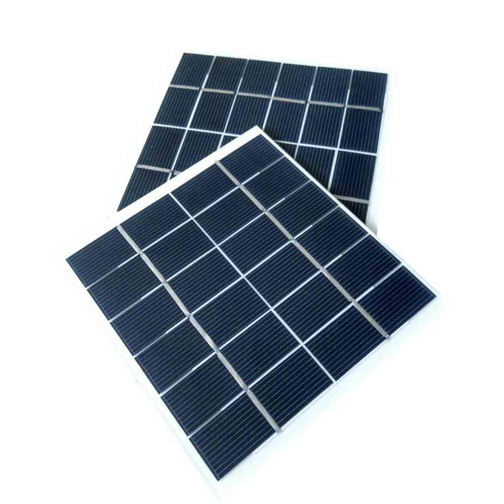 Mini Solar Panel Power, Module 350mah For Battery Cell Phone Charger