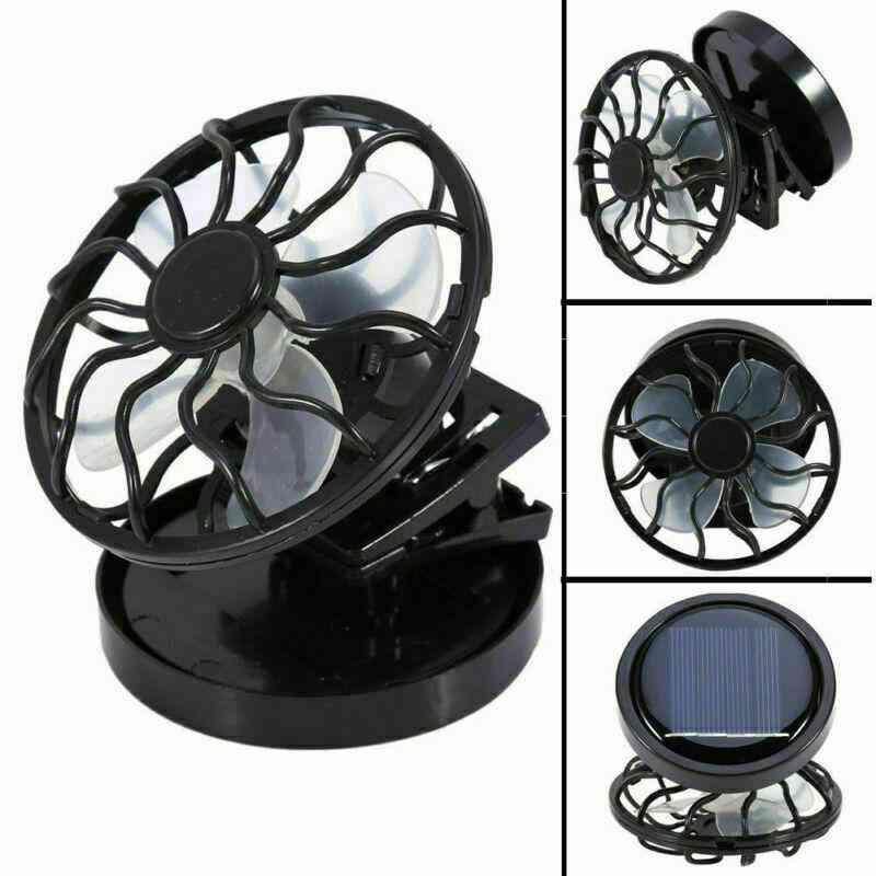 Mini Clip Solar Energy Panel Cell Cooling Usb Fan