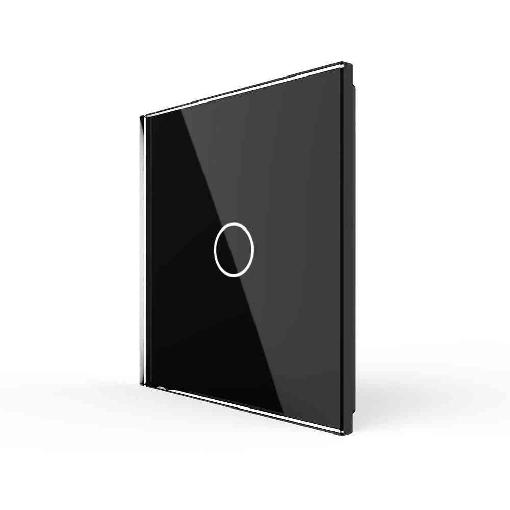 Luxury Eu Standard, Single Glass Panel For 1-gang Wall Touch Switch