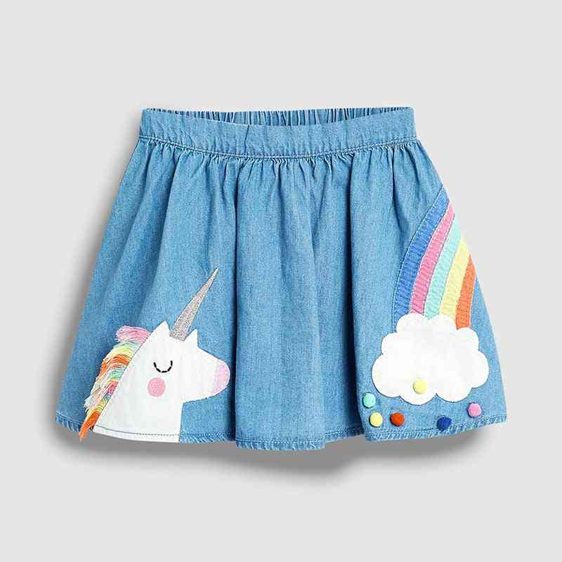 Little 2-7 Years Girl's Summer Skirts, Or Tops ( Optional)