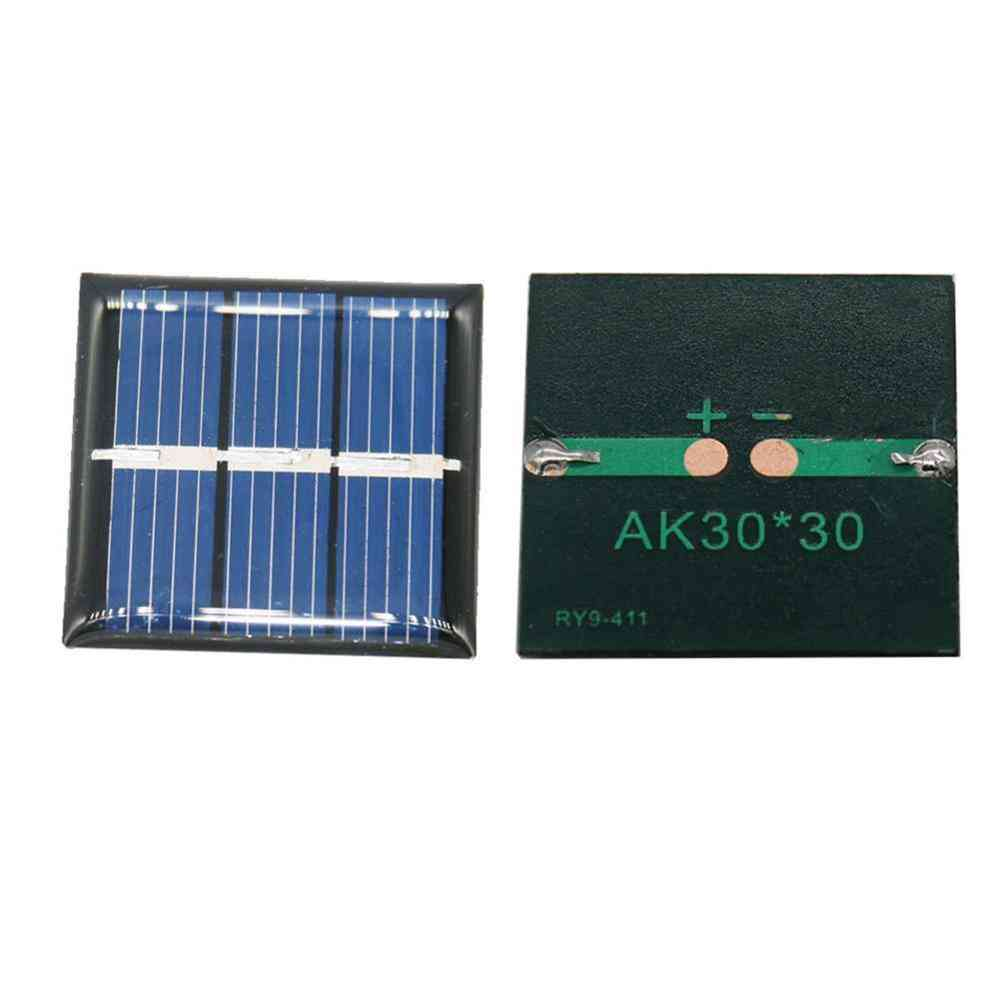 1.5v 60ma  Solar Panel, Polycrystalline Silicon Battery Charger