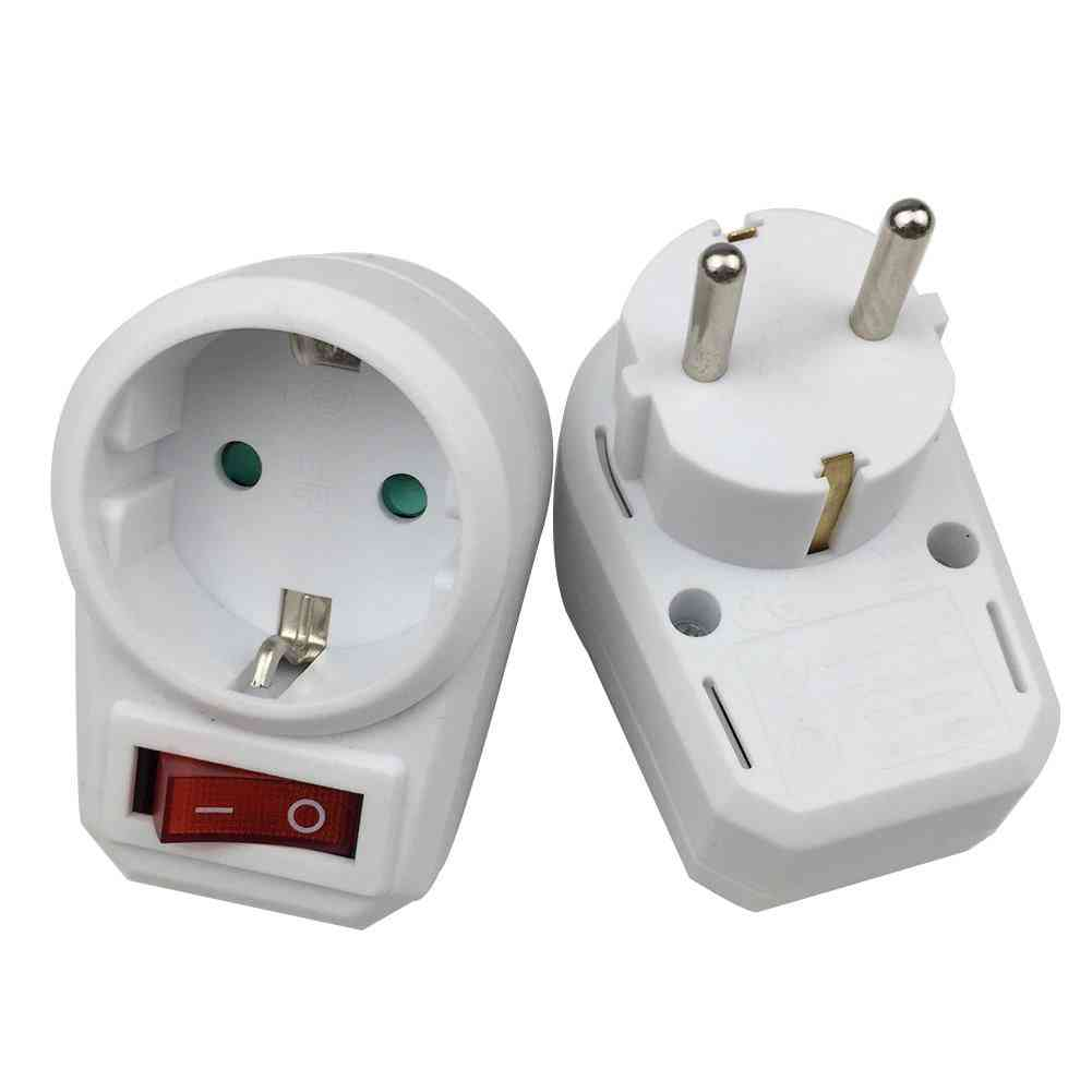 European Type Conversion Socket -1 To 1 Power Adapter