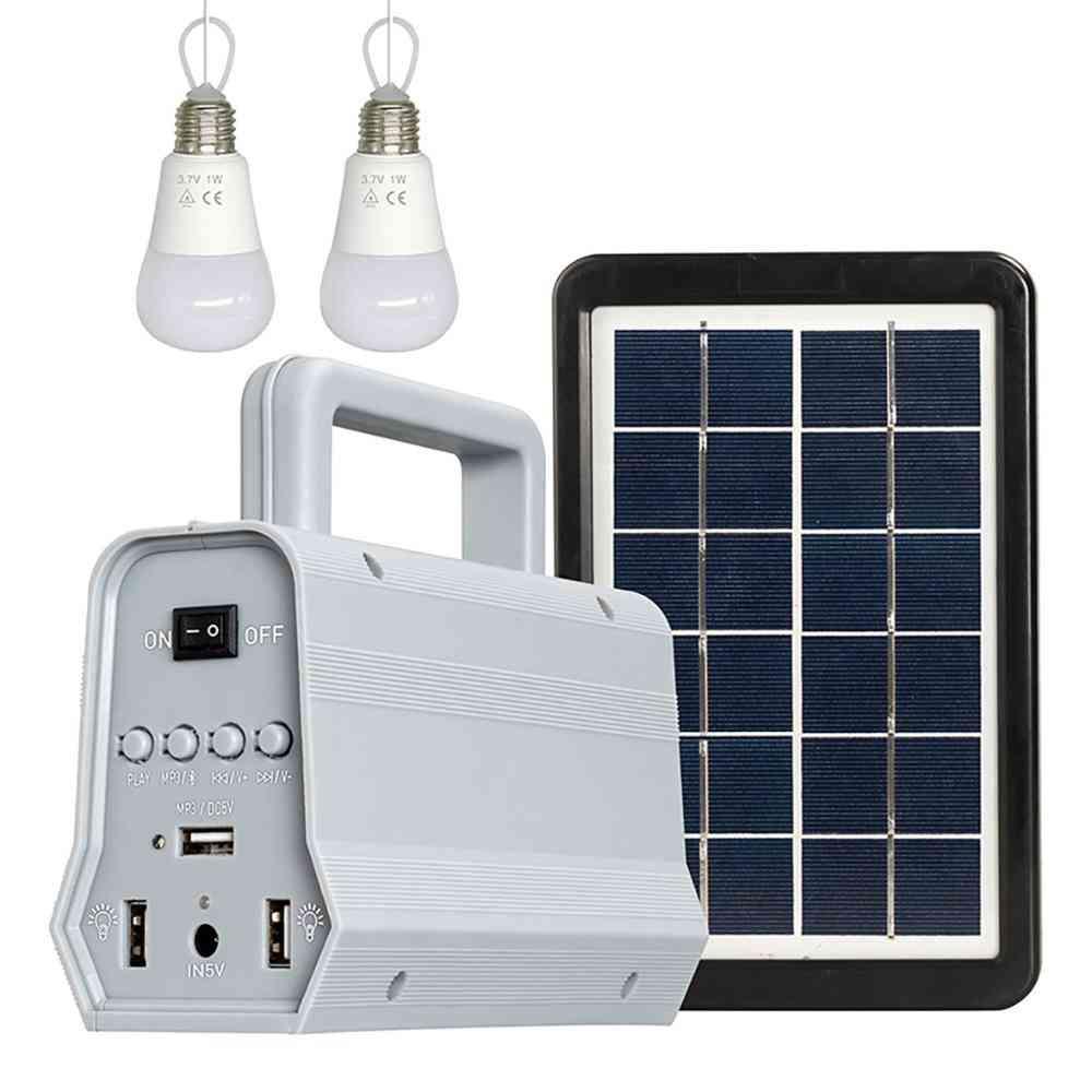 5v/3w Polysilicon Solar Panel, Off-grid Multifunctional Lighting System