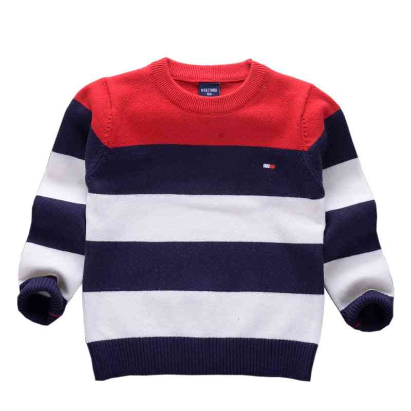 Striped Sweaters, Spring Fall For Boys Clothes