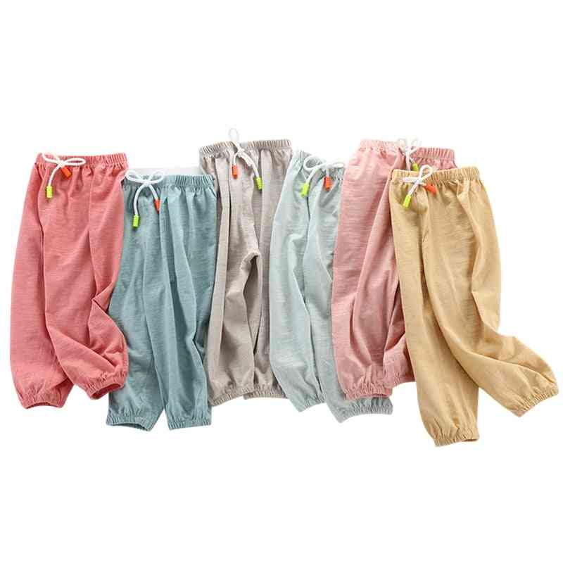 Children's Jeans Pants, And Lantern Casual Trousers