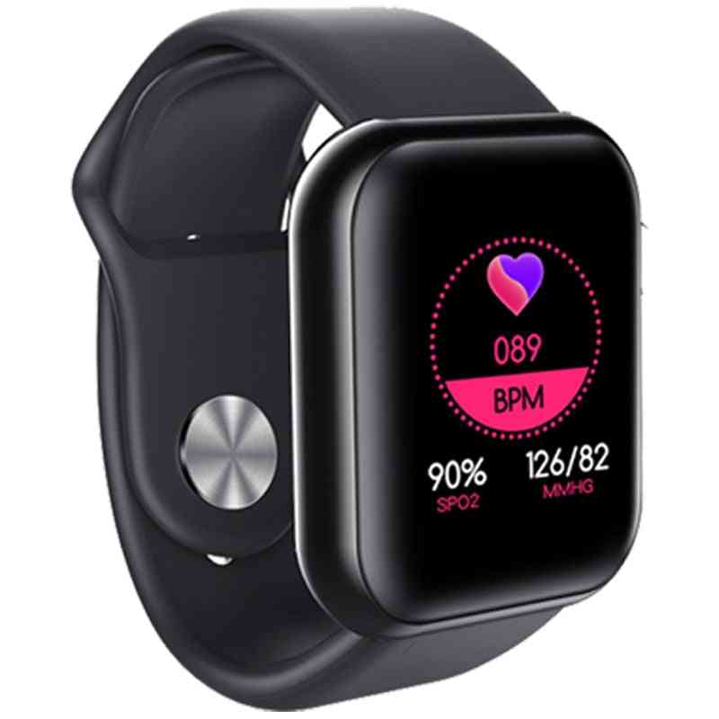 Waterproof Blood Pressure Smartwatch, Heart Rate Monitor Sleep Tracker Clock