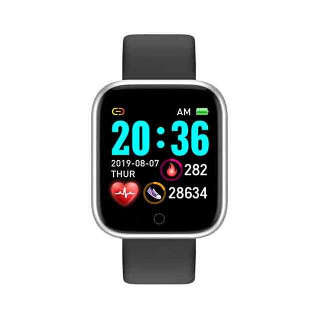 Blood Pressure Monitor, Waterproof Smart Watches - Heart Rate Tracker Clock For Android Ios