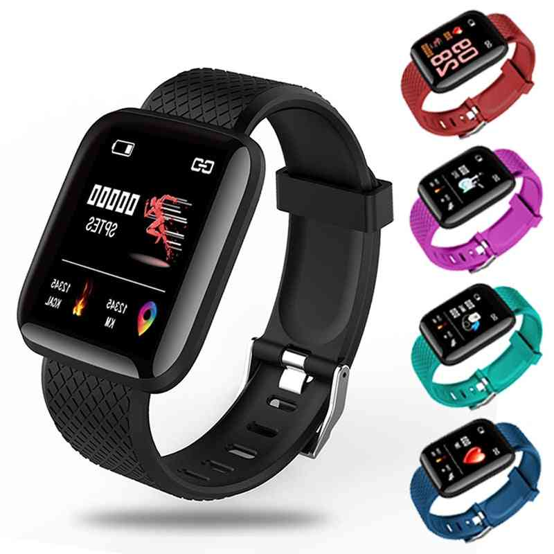 Smartwatch - Electronics Smart Fitness Tracker With Silicone Strap Sport Watches