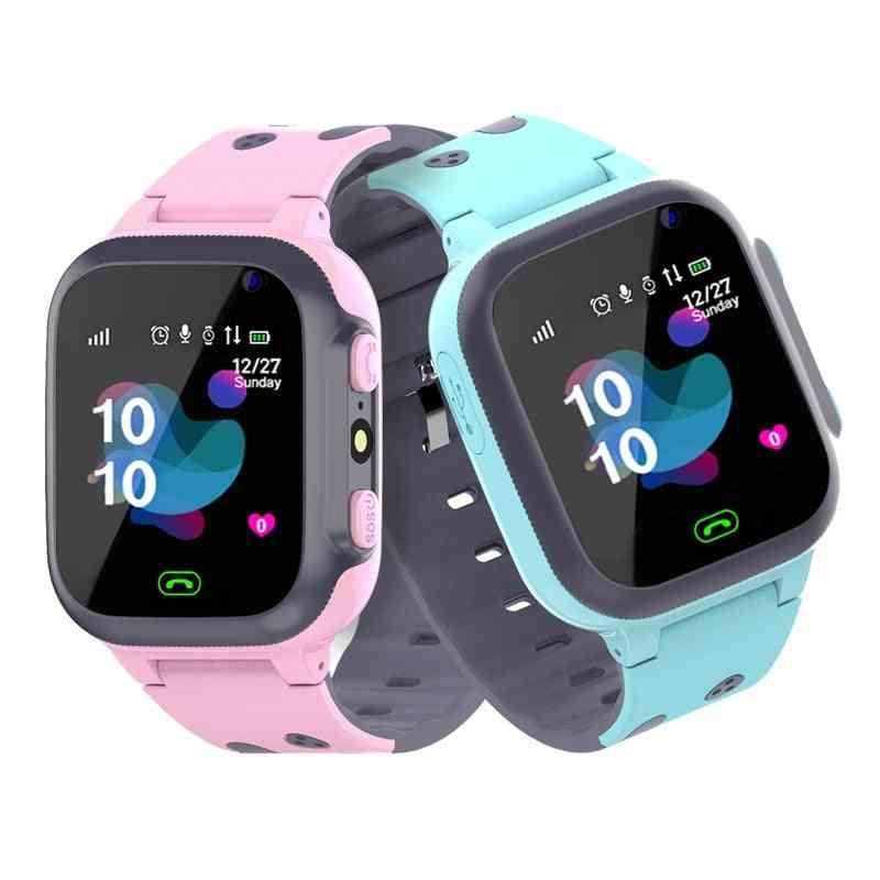 Sos Antil Lost Waterproof Smartwatch, Baby 2g Sim Card Location Tracker Watches