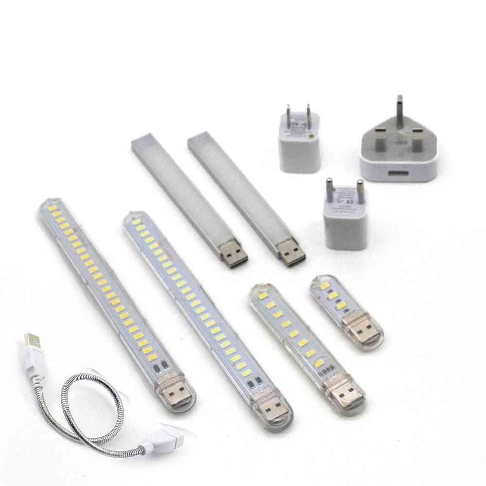 Dc 5v Portable Mini Usb Led Night Light - Us Adapter