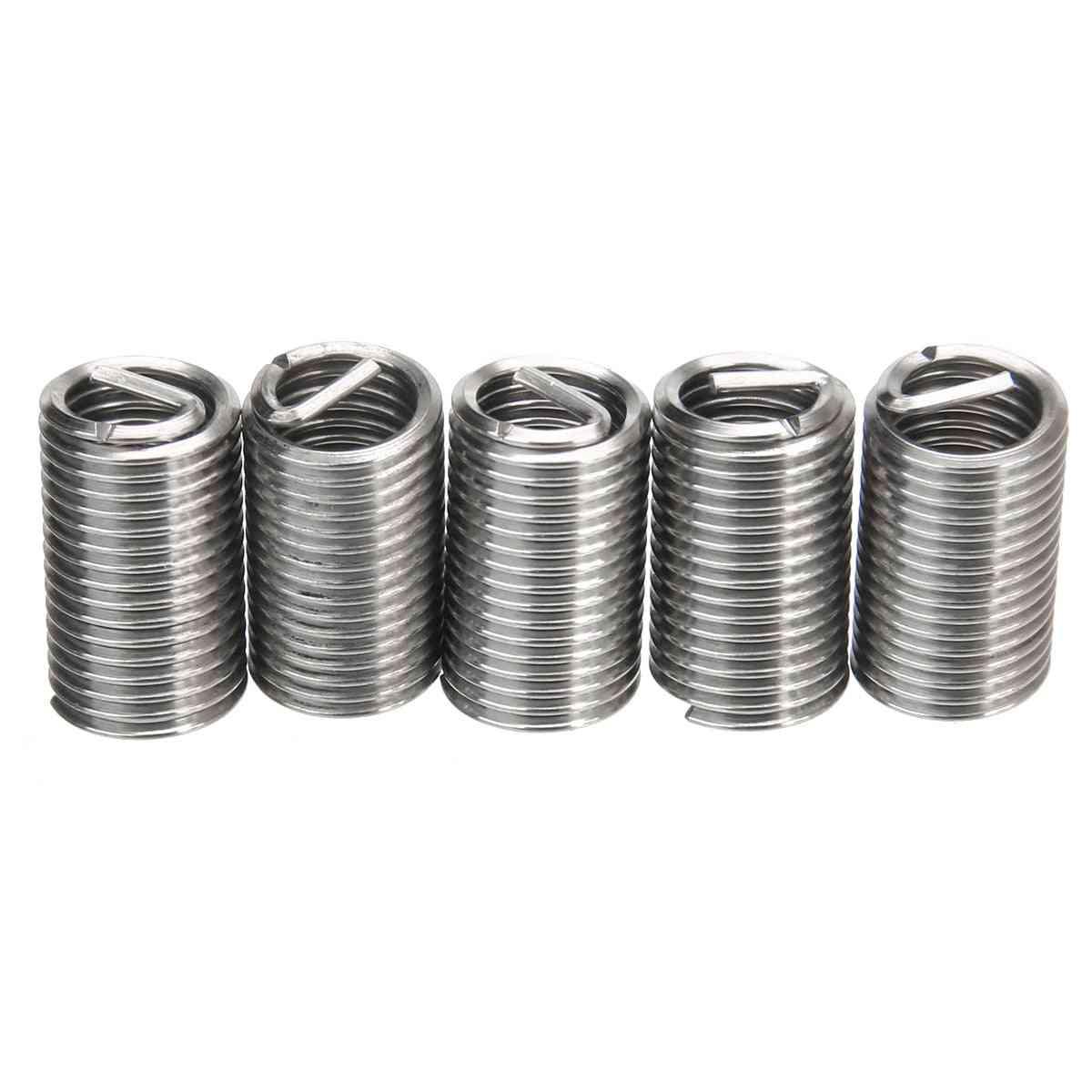 150pcs Stainless Steel, Helicoil Thread Repair Insert Kit