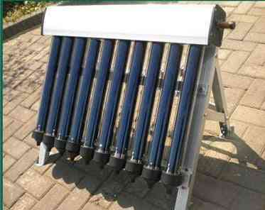 Solar Hot Water Heater Collector With 10 Evacuated Tubes