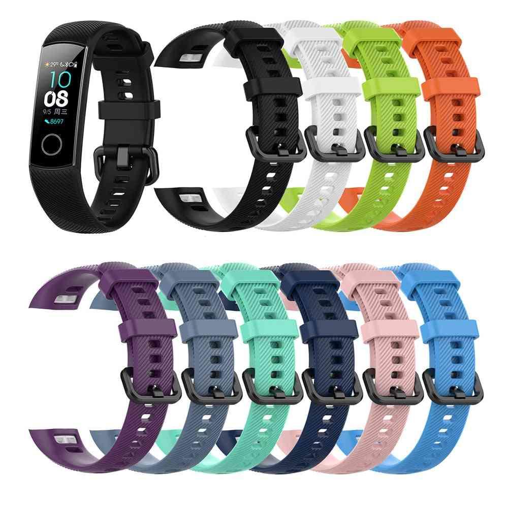 Silicone Wrist Strap Honor Band, 4 Smart Sport Bracelet