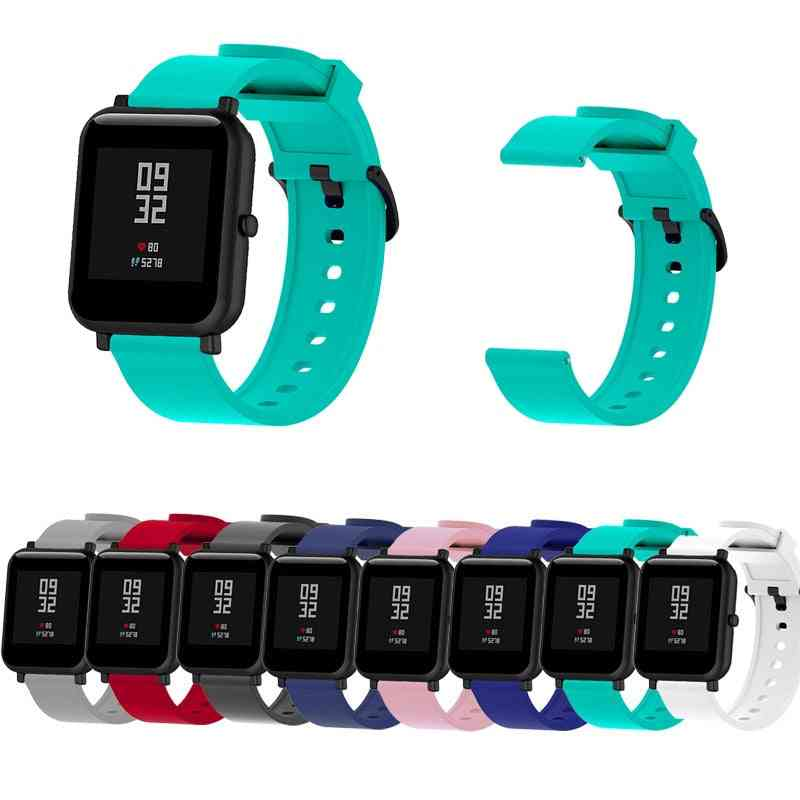 Silicone Strap Suitable Replacement For Huami Amazfit Watch