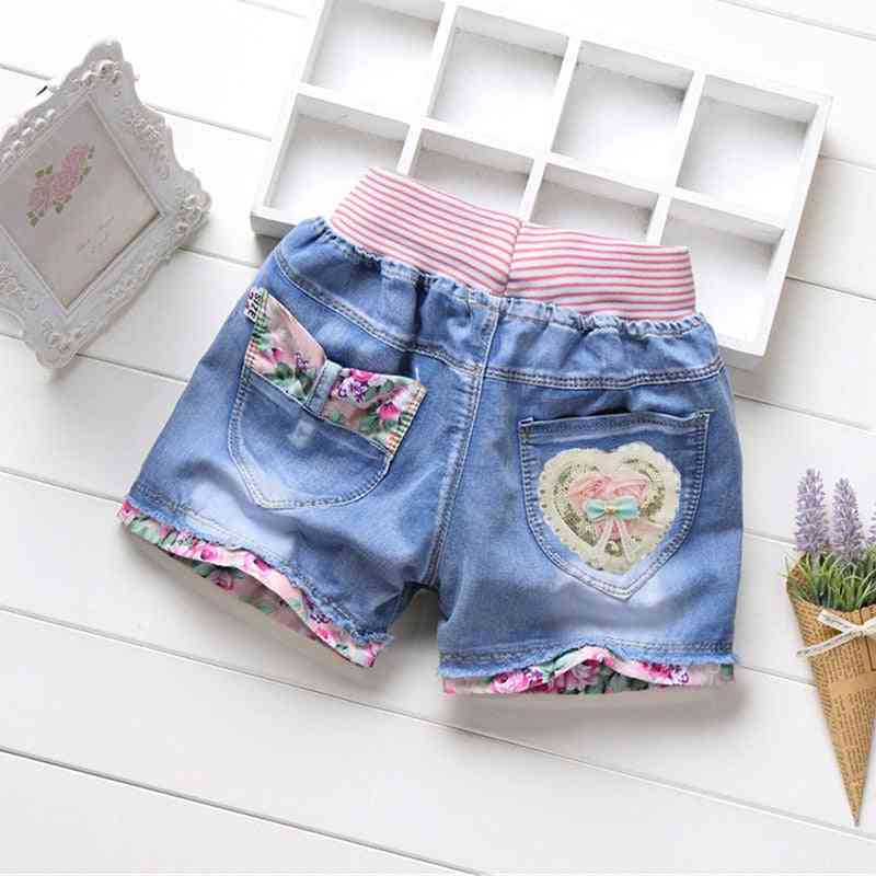 Summer Lace Short Pants- Kids Beach Clothes For Teenage