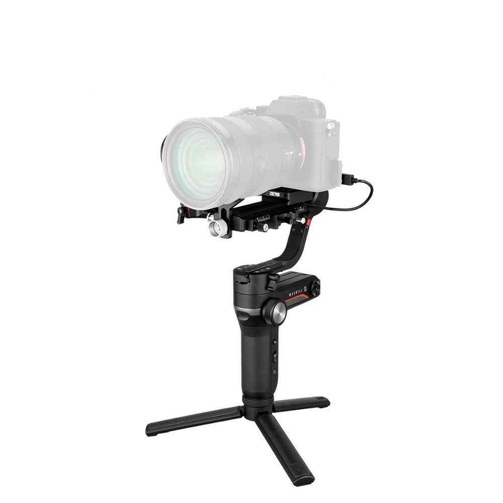 3-axis Gimbal Handheld Stabilizer, Image Transmission For Canon Sony Etc