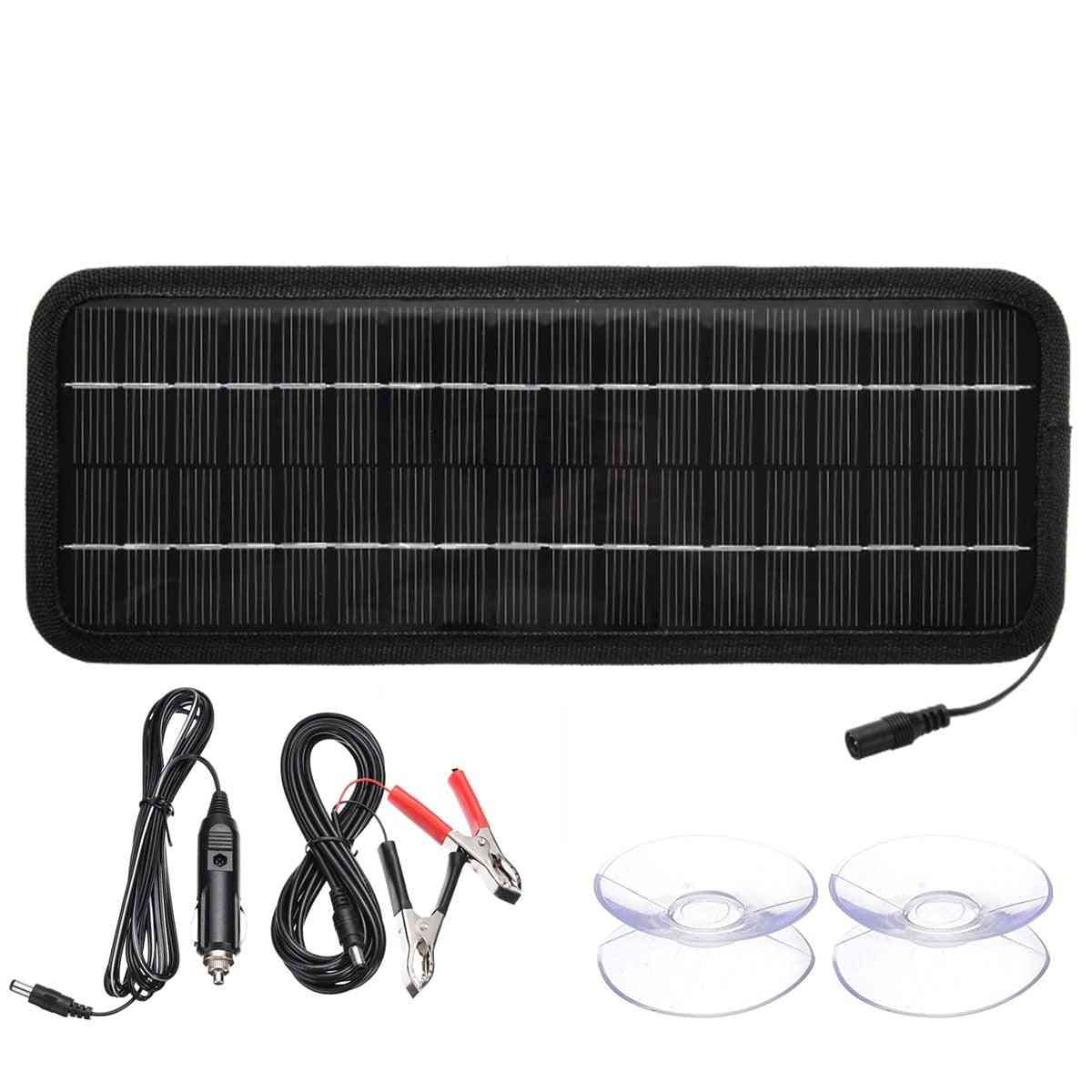 4.5w/8w 12v Solar Battery Charger Panel