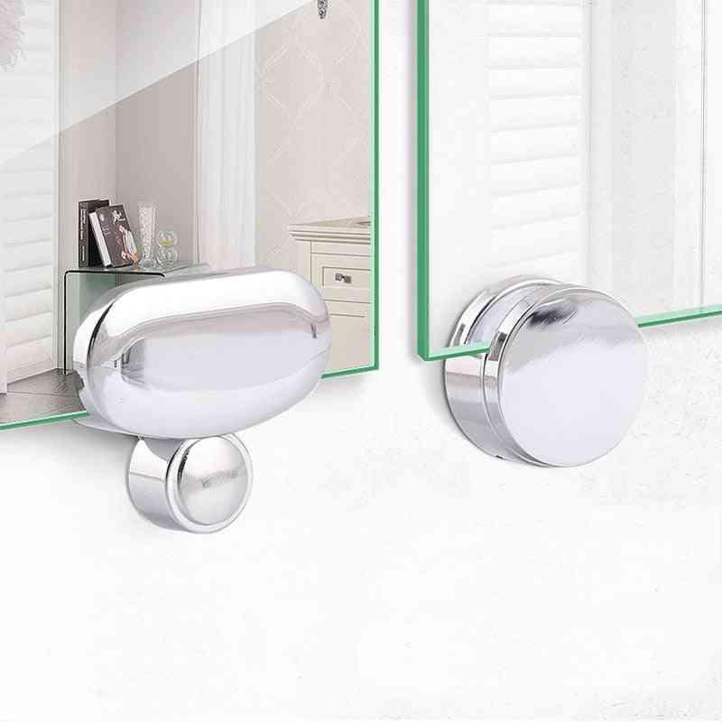 Wall Mount Frameless Mirror Clip For Bathroom