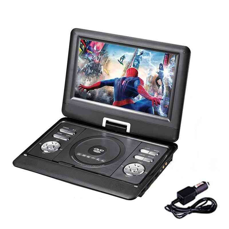 Portable Dvd Player, With 10.1 Inch  And Battery Powered