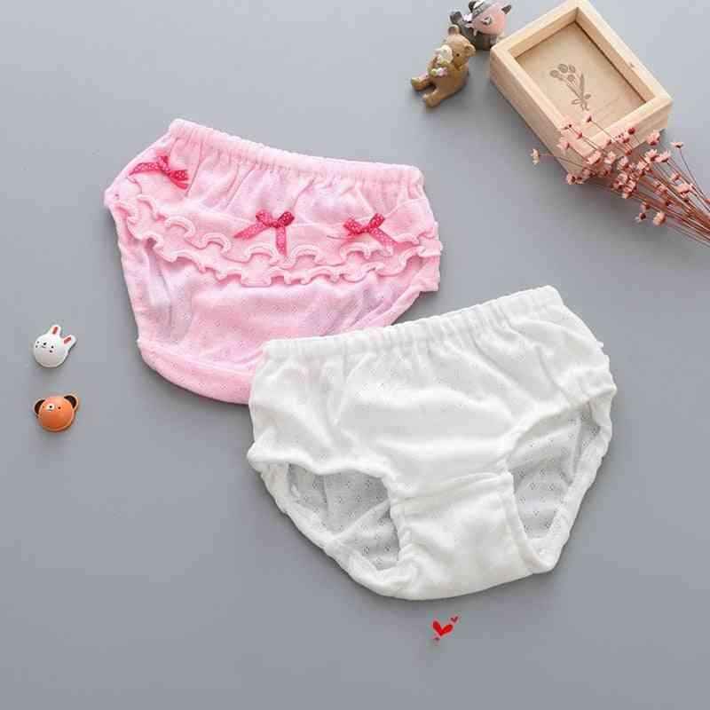 Cotton Soft Baby Girls Underwear, Bowknot Panties