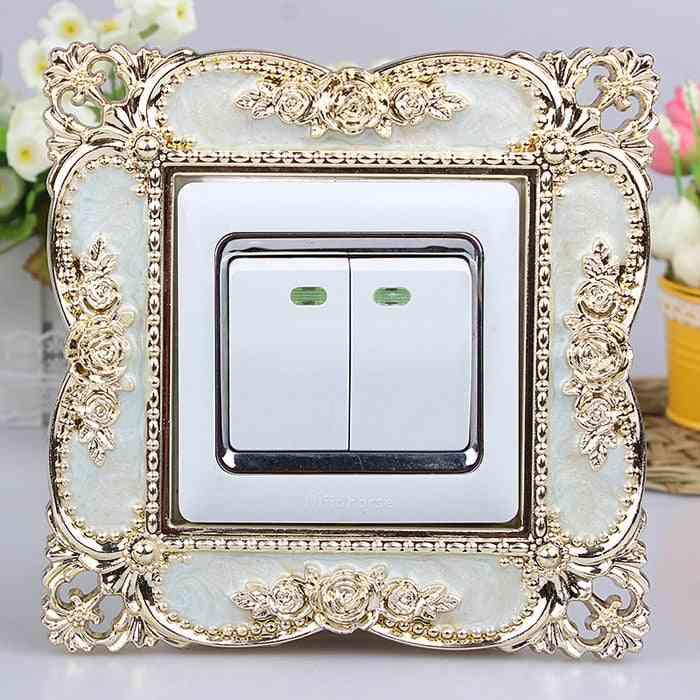 86 European Switch Smart Cover, Acrylic Livingroom Socket Paste