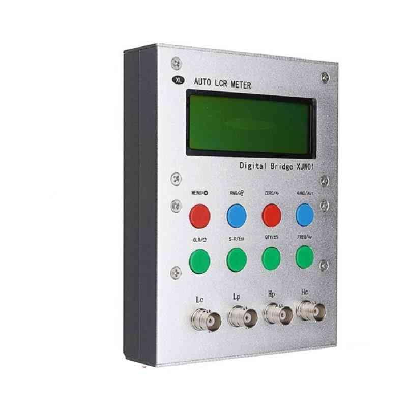 Lcr Digital Bridge Tester, Inductance,capacitor, Resistor,watchband, Esr Kit