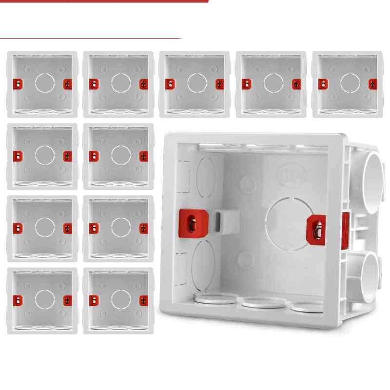Adjustable 86 Switch Socket Box, Mounting Cassette Screw Set