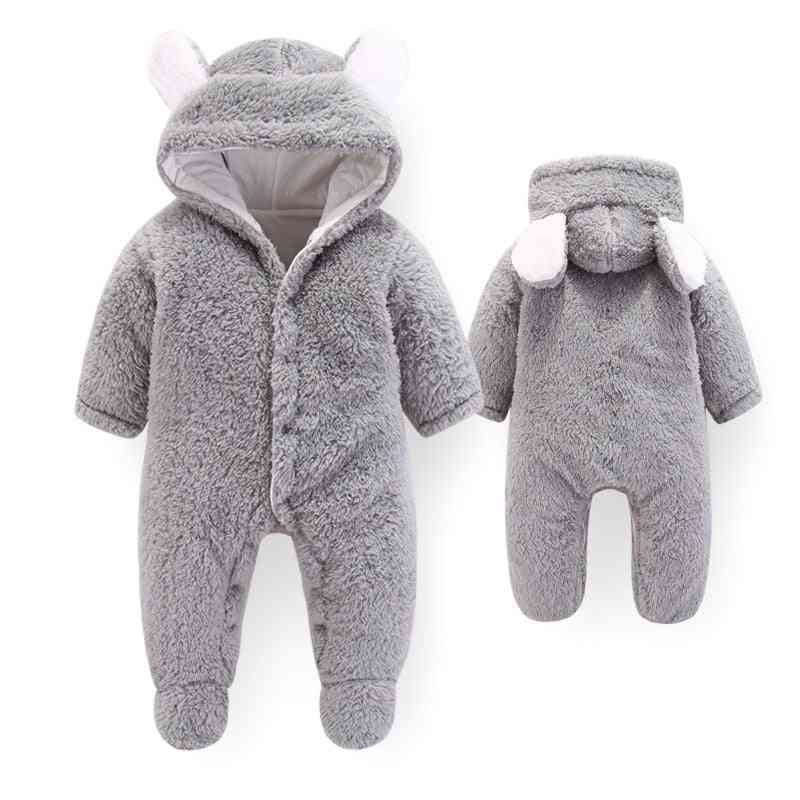 New Autumn Winter Overall Baby Boy Girl Jumpsuits, Newborn Romper