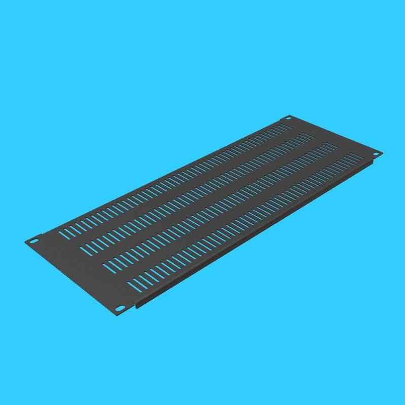 High Quality 4u Cooling Ventilation Rack Blind Flange Perforated Panel Mounting Back Plate