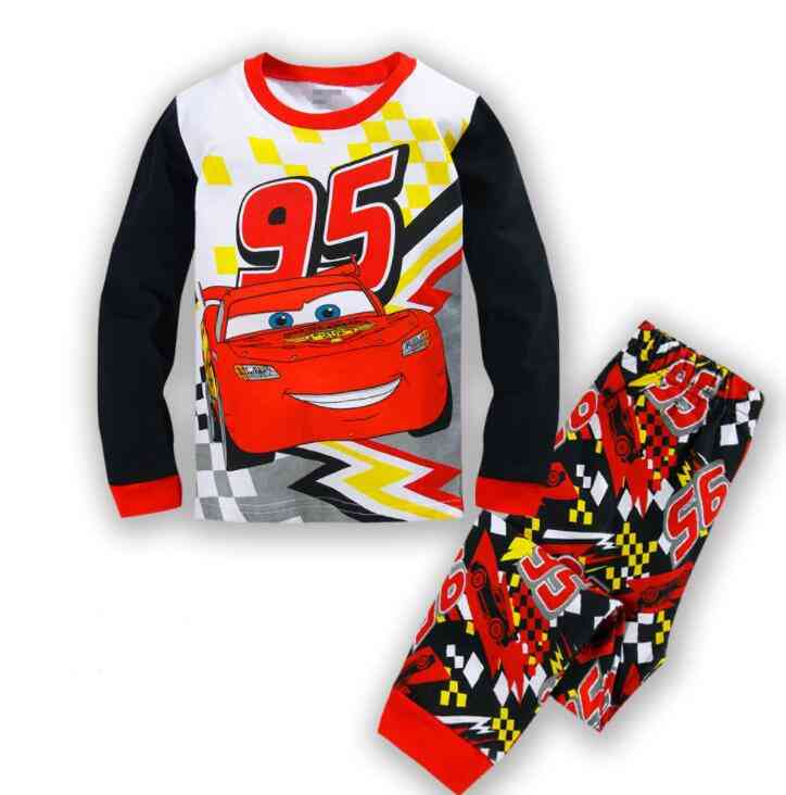 Kids Cotton Pajamas, Toystory, Woody Bass, Lightyear Printed, Sleepwear - Baby