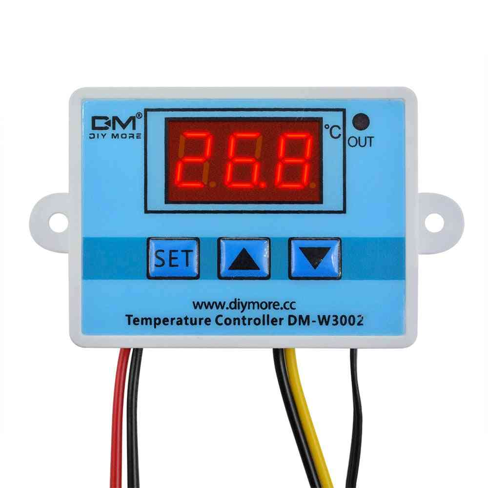 Led Digital Temperature Controller, Thermostat Thermometer Sensor