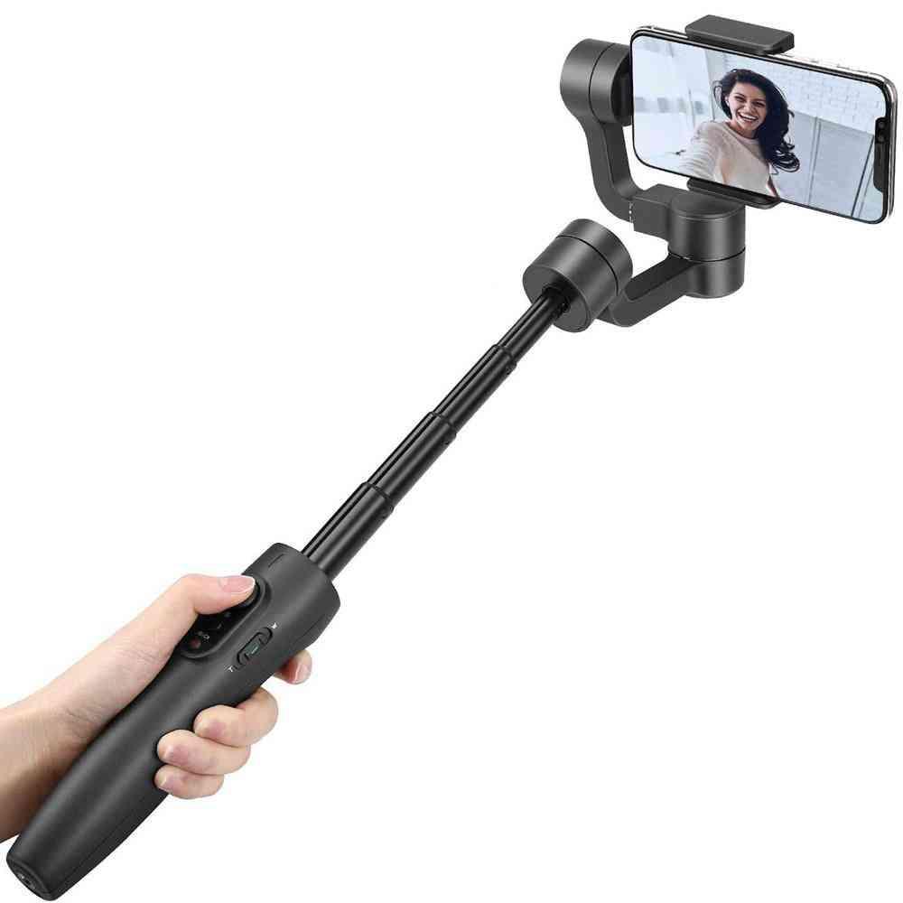 3-axis Smartphone Handheld Gimbal,180mm Extendable Pole