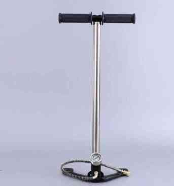 4500psi 300bar 30mpa High Pressure Pcp Hand Operated Air Pump, Hunting Three Stage Hand