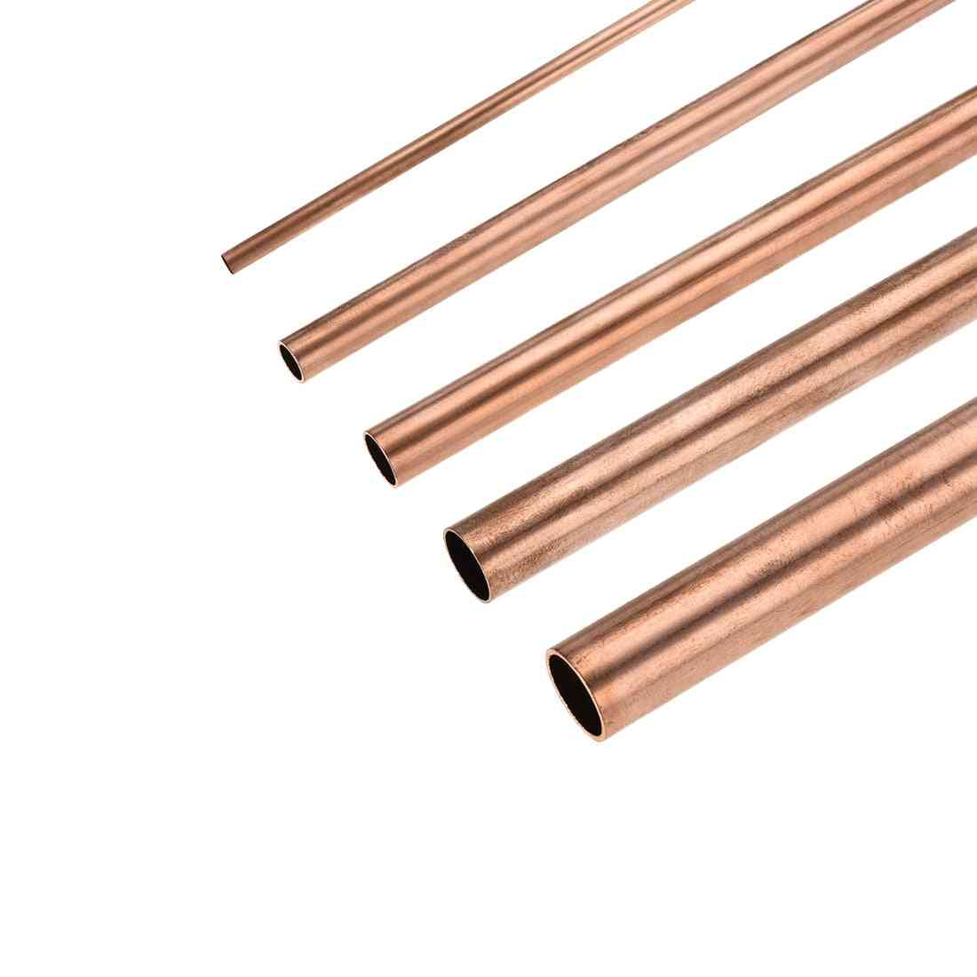 Copper Round Tube- Hollow Straight Pipe With Smooth Surface