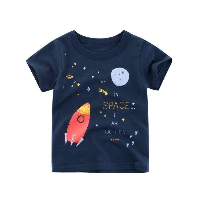 Baby Shirts- Summer Kids Cartoon T Shirt