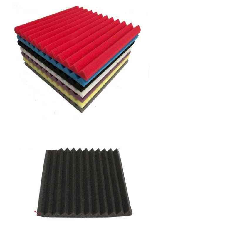 Wedge Fireproof Acoustic Foam Soundproof Board -studio Reverberation Panels