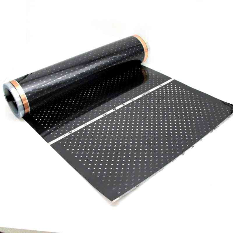 Infrared Carbon Ac220v Underfloor Heating Film -low Electrical Warm Mat