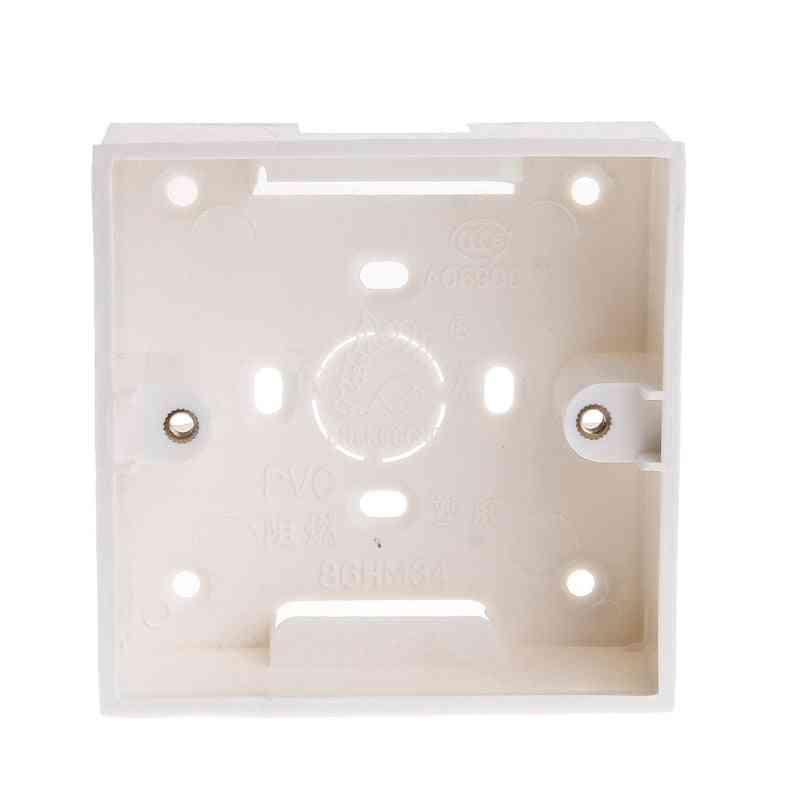 Pvc Junction Box, Wall Mount Cassette For Switch Socket Base