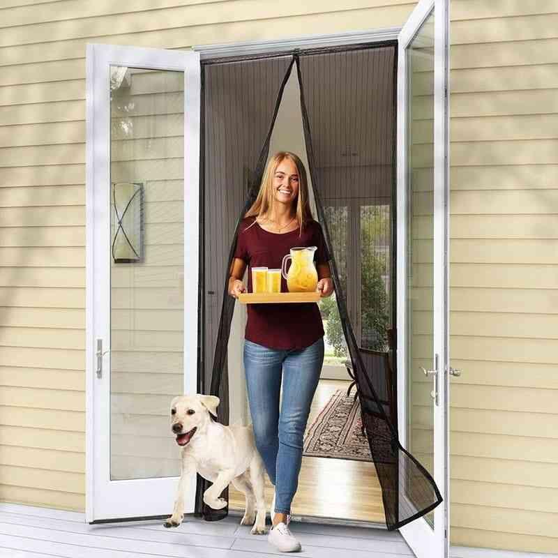 Magnetic Screen Door-anti-mosquito Net