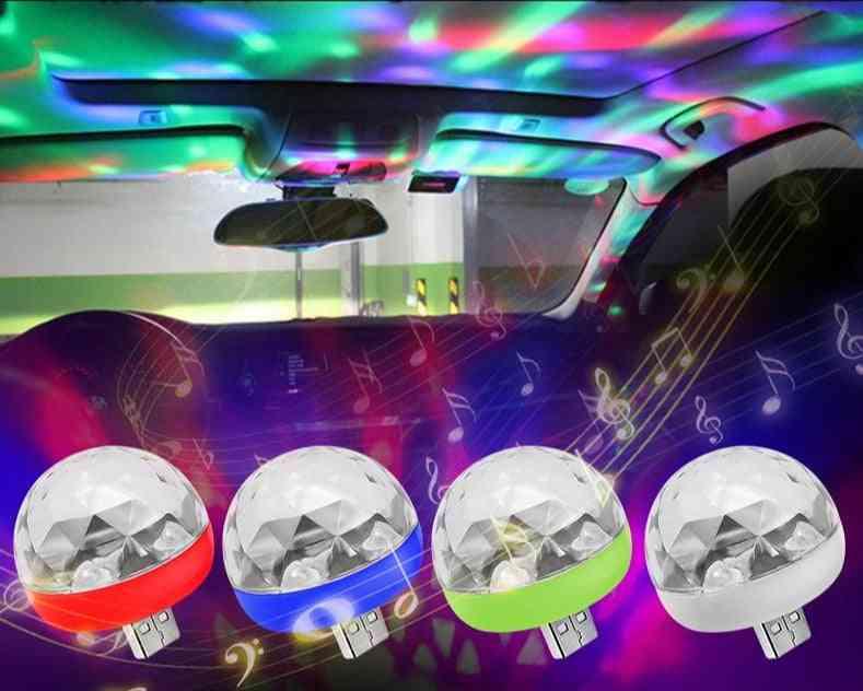 4w Portable Usb Disco Light, Phone Connected Magic Ball