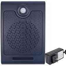 Wireless Pir Motion Sensor Detector- Activated Sound Speaker, Small Scream Box